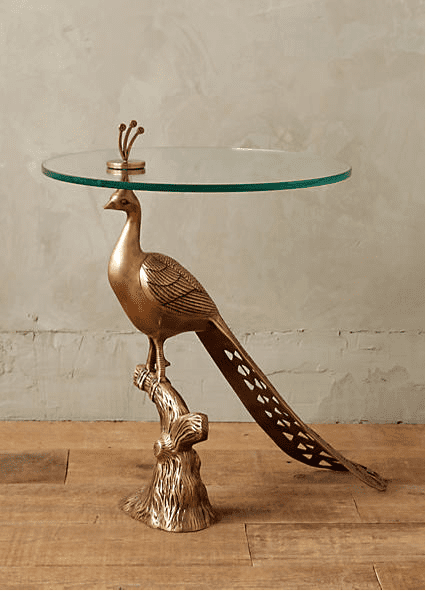 Pavo Side Table, Anthropologie