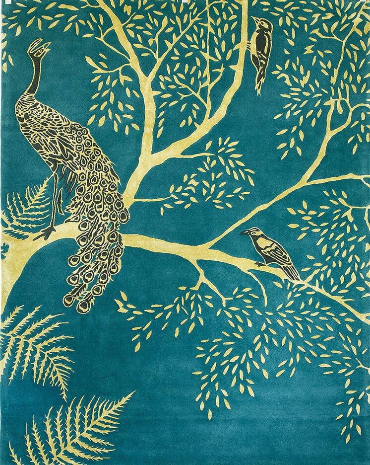 Wendy Morrison Enchanted Wood rug