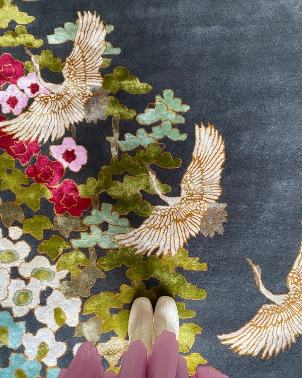 Mount Orient oriental style rug