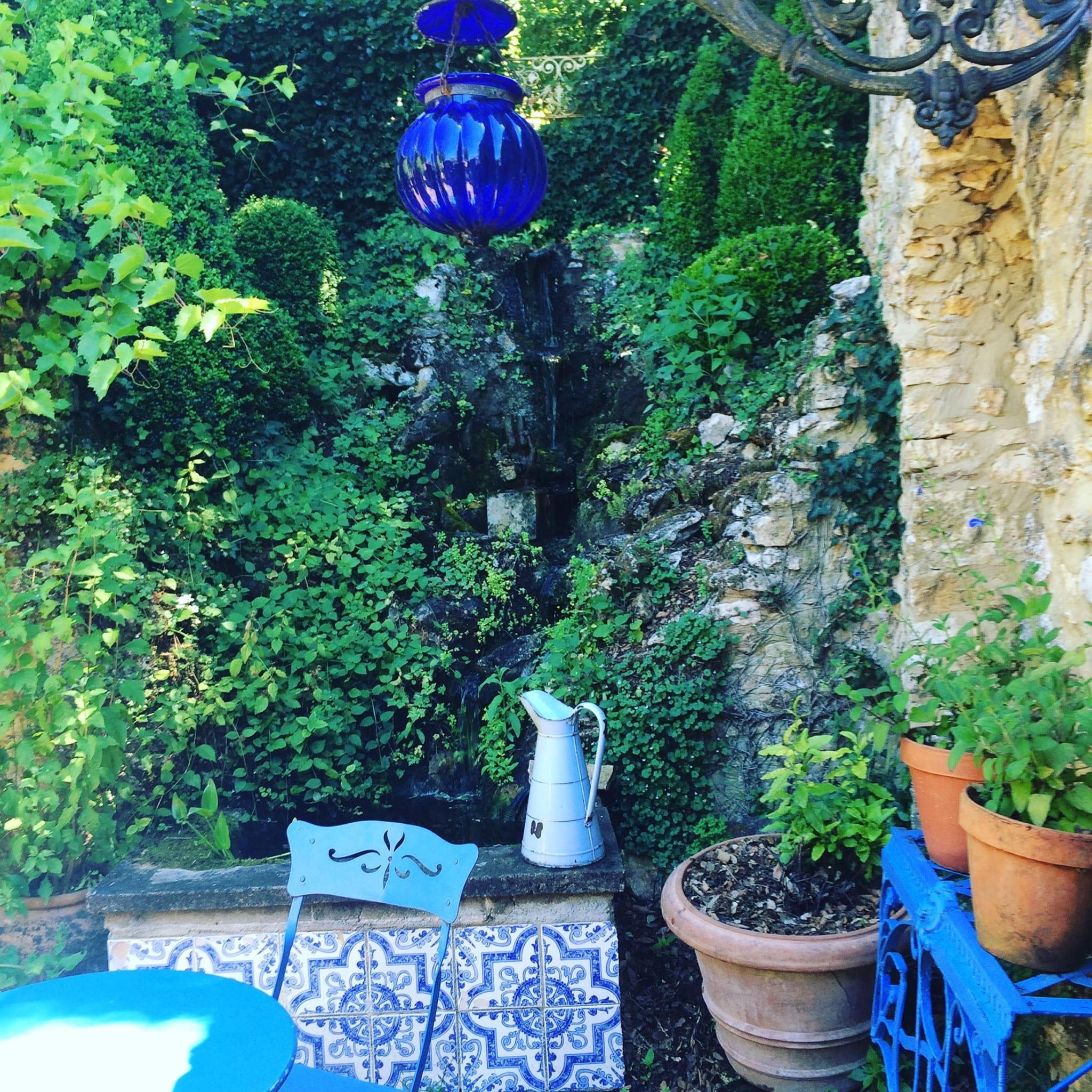 The Terrace at le jardin de cadiot