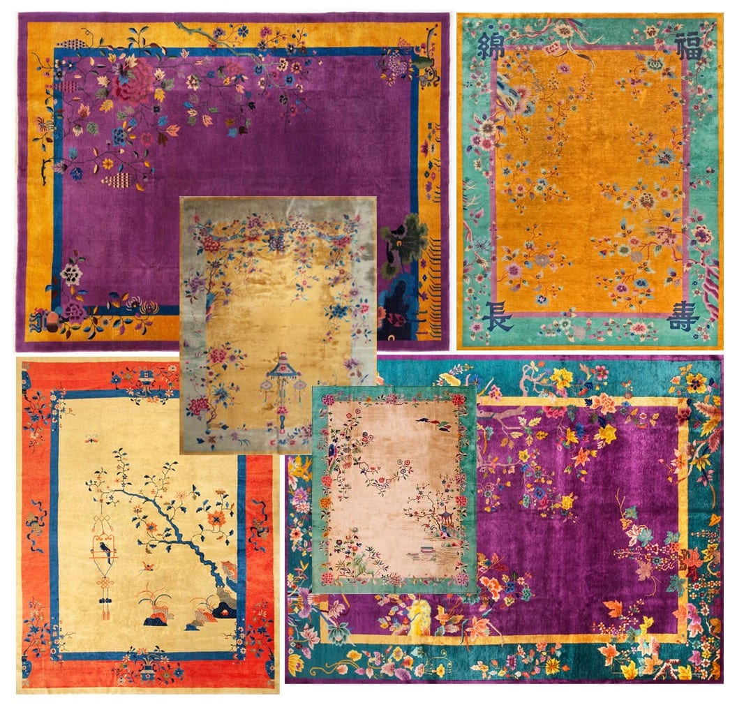 Chinese Deco rugs