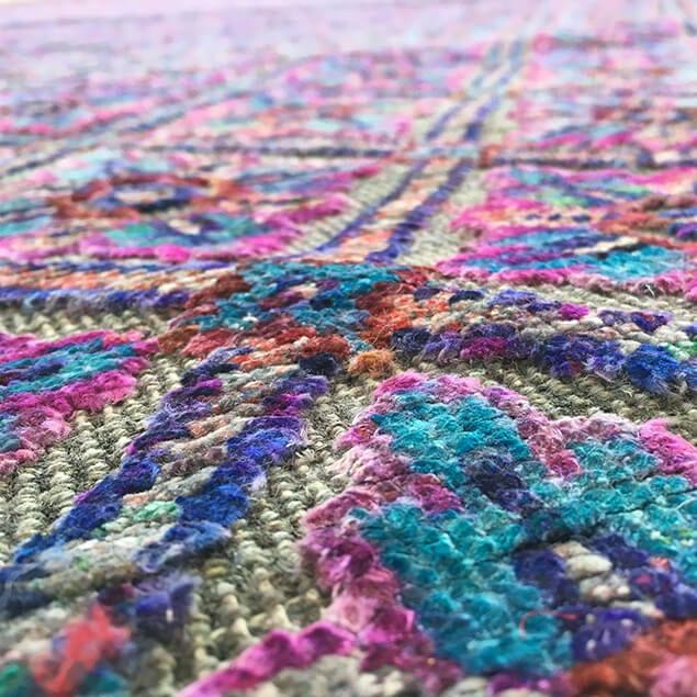Wendy Morrison Govind rug - close up