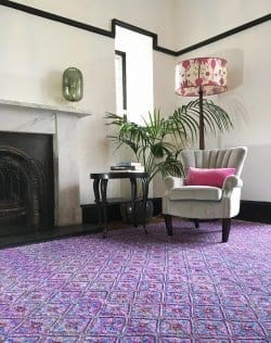Wendy Morrison Govind rug - The Curated Collection.