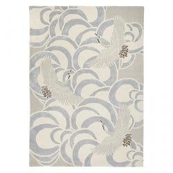 Wendy Morrison's Flamingo Clouds rug for John Lewis