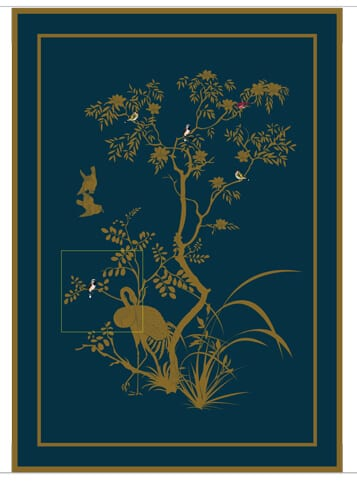Jardin de Chinois to join the hand knotted collection.