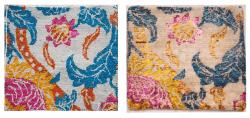 The Raika rug washing process