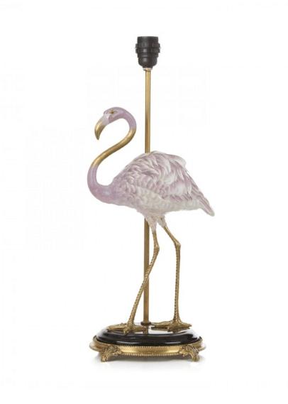 House of Hackney, Pink Quartz Flamingo Lamp