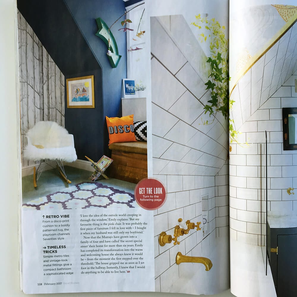 Our rugs in Good Homes mag - Wendy Morrison : Wendy Morrison