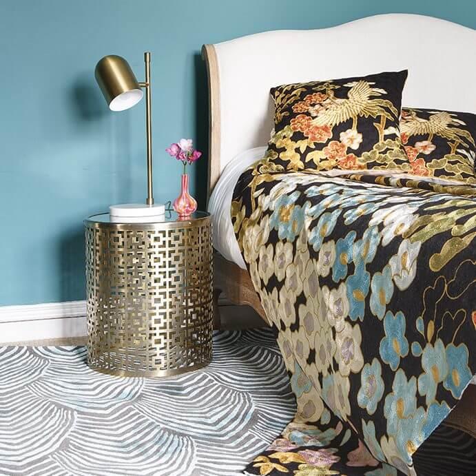 Wendy Morrison Crewel Stitch rugs