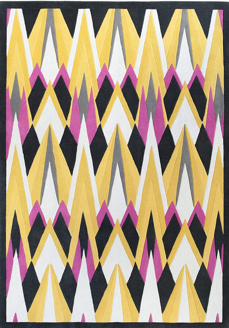 Wendy Morrison Deco Diamond Rug