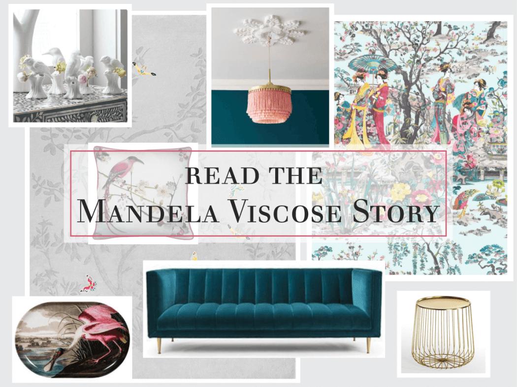 The Mandela Viscose Rug Story