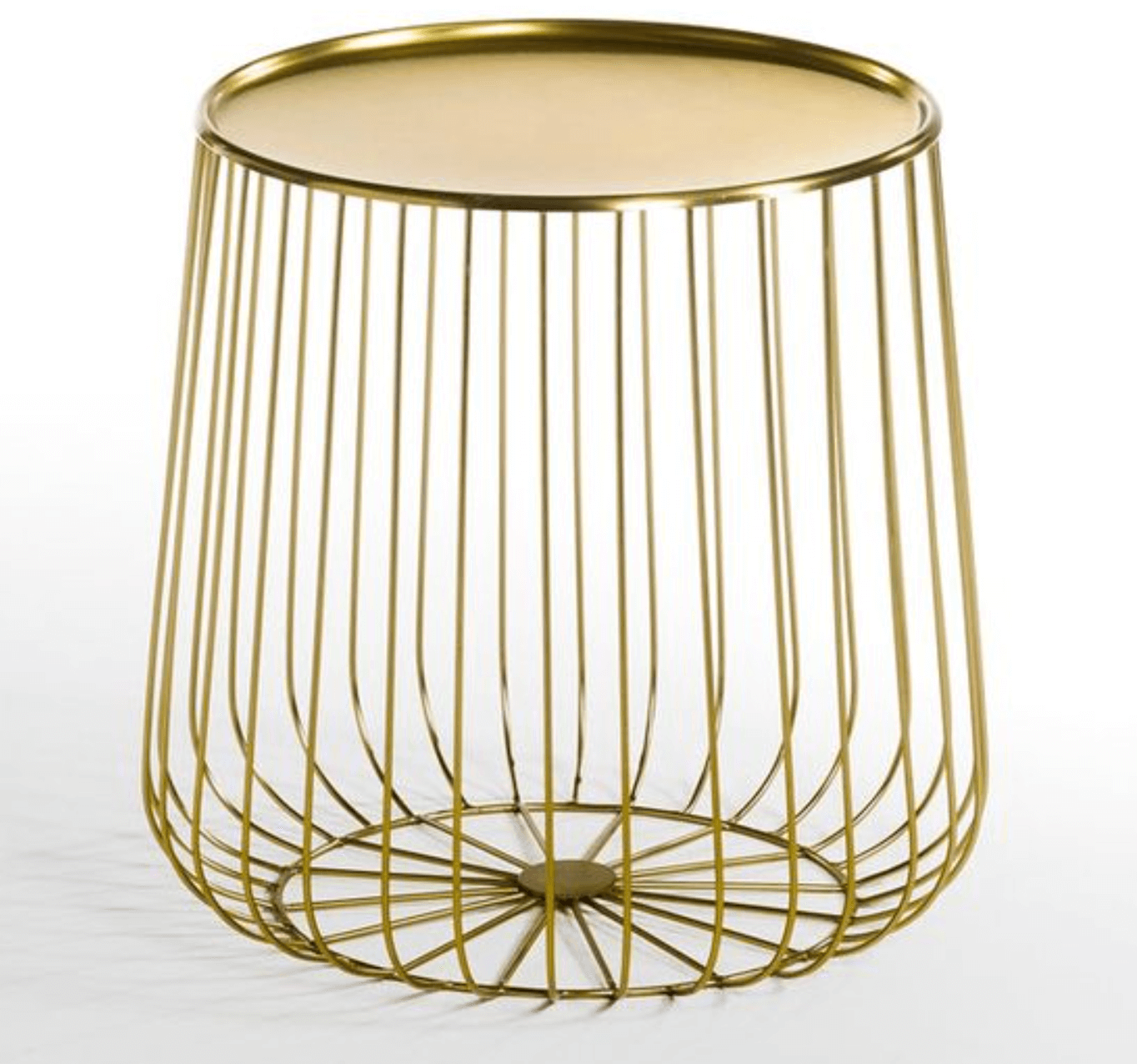 Cage Metal Wire Occasional Table from La Redoute