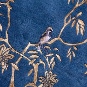Jardin de Chinois hand knotted rug