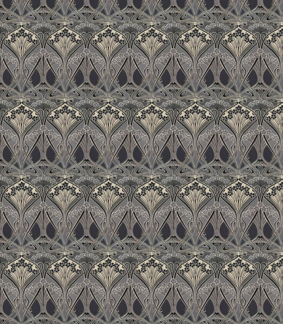 Ianthe Flower Liberty Fabrics Wallpaper