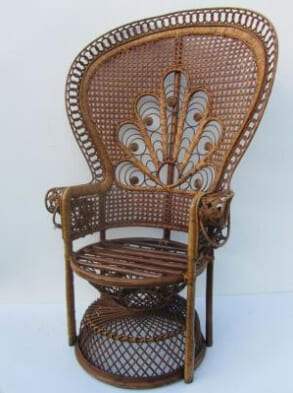 1960s Vintage Peacock Chair from Panomo.co.uk