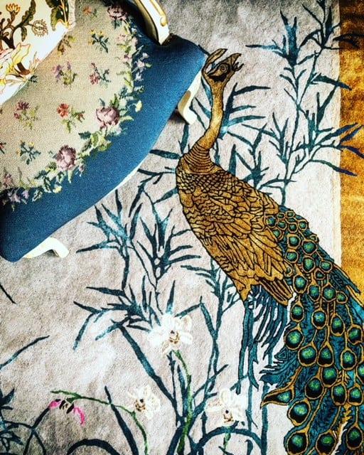 Chinese Garden Of Virtue Hand Tufted Wendy Morrison Design