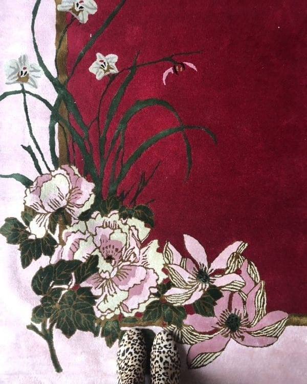 Peace, Love & Joy hand-tufted rug by Wendy Morison Design
