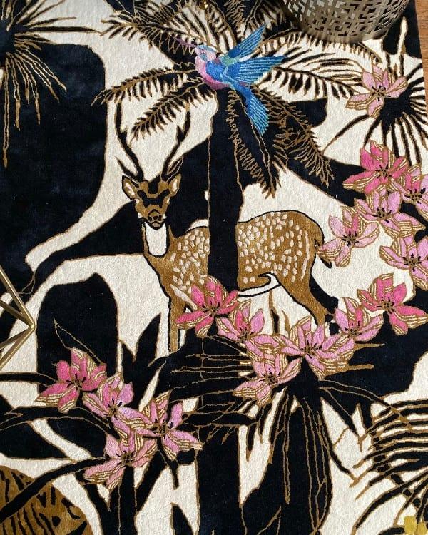 Dreams of the Jungle designer rug