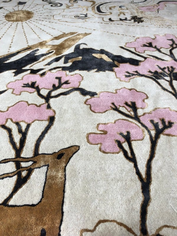 Longevity rug details