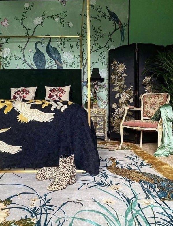 Chinese Garden of Virtue designer rug