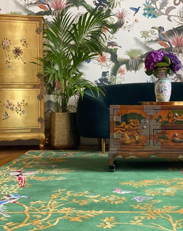 Jardin de Orient designer rug