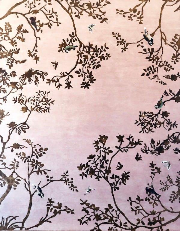 Secret Garden bedroom rug