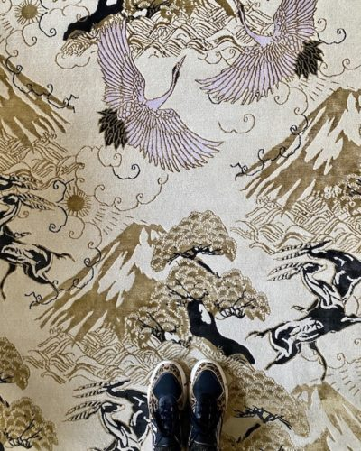 Eternal Toile Hand Knotted Rug