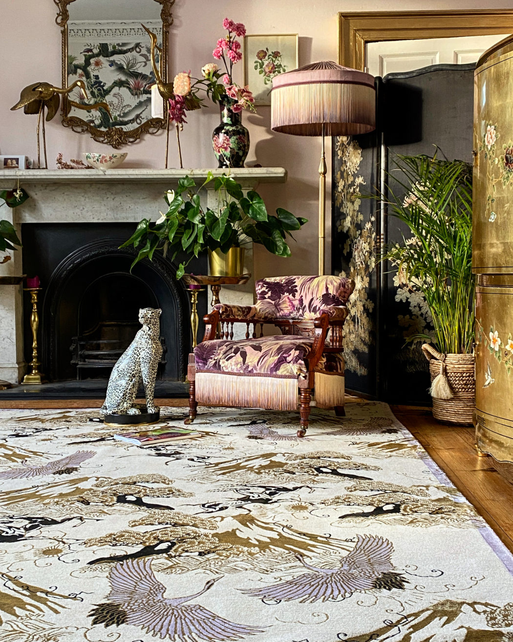 Eternal Toile Hand-Knotted Rug