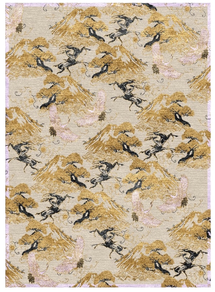 Eternal Toile - Hand-Knotted Rug