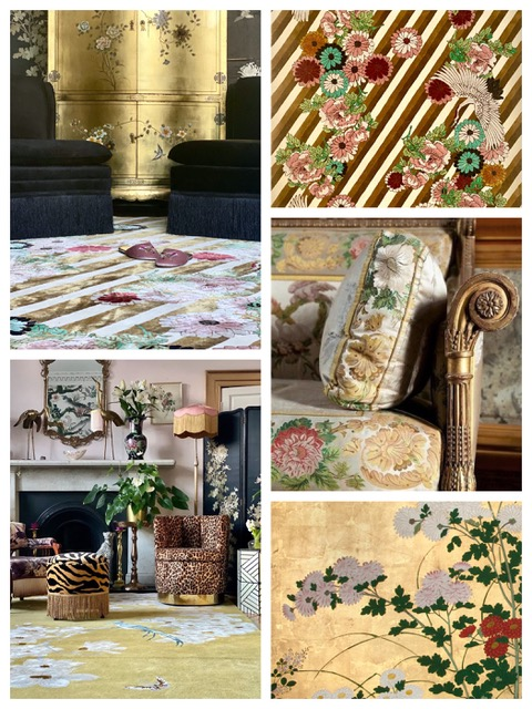 Glamour Gold Collage