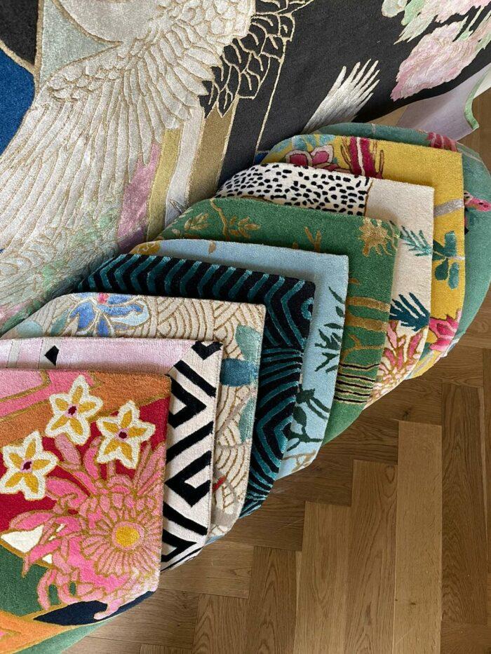 Rug Fabric Samples